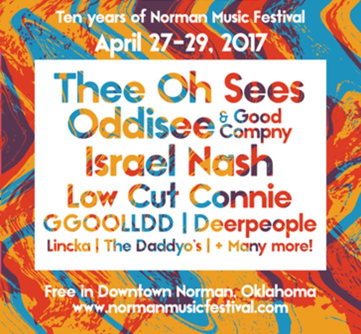 GGOOLLDD @ Norman Music Festival - Norman, OK