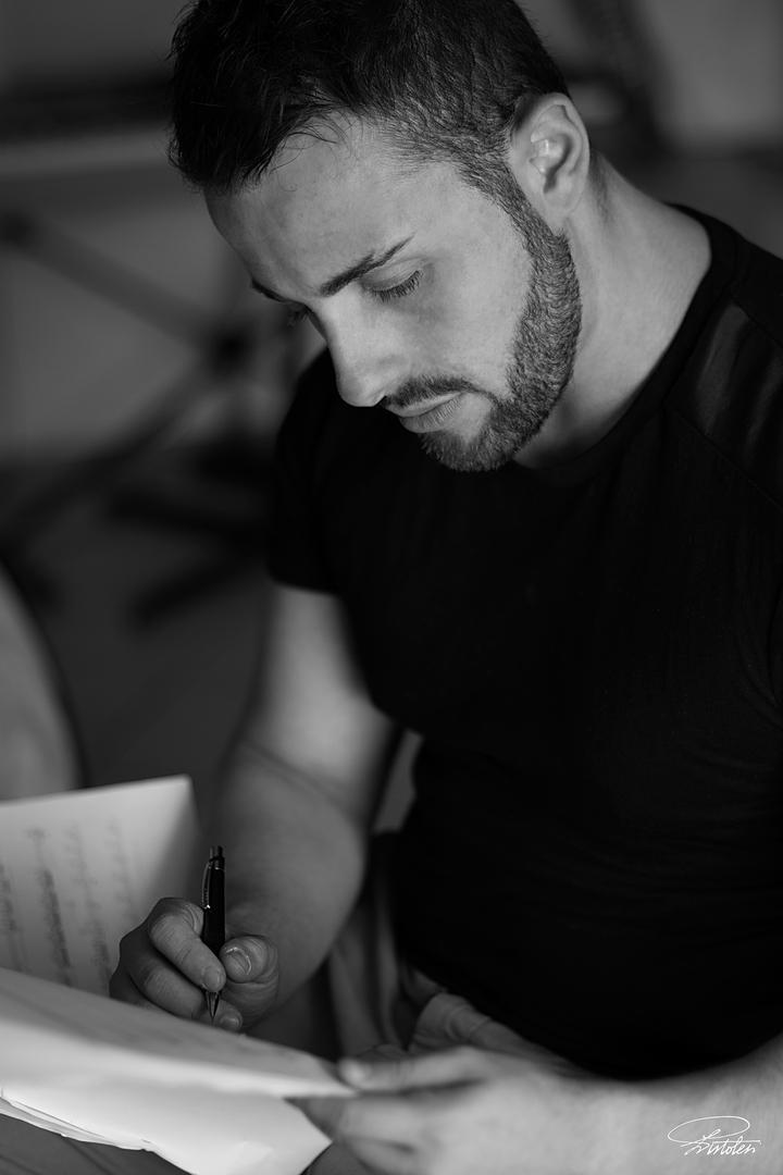 Salvatore Frega - Composer @ Villa del Parco della Tesoriera - Turin, Italy