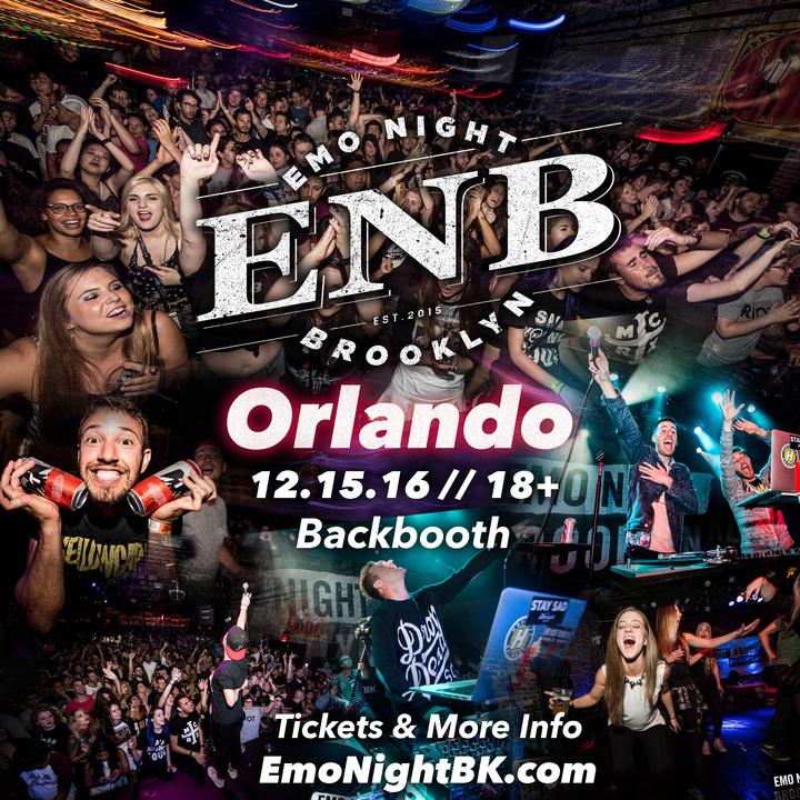 Emo Night Brooklyn @ Backbooth - Orlando, FL