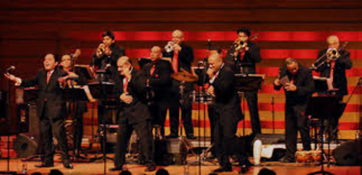 Doug Beavers @ w/Spanish Harlem Orchestra - Long Beach Perf. Arts Center - Long Beach, CA