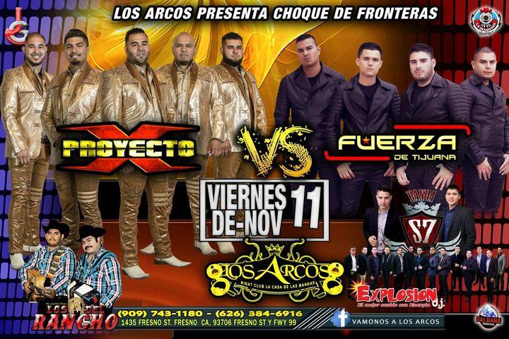 BANDA S7 @ Los Arcos Night Club - Fresno, CA