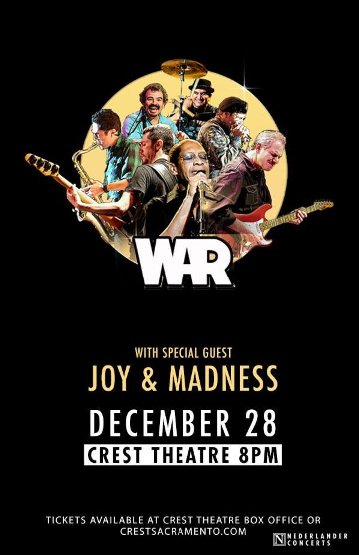 Joy and Madness @ CREST THEATER - Sacramento, CA