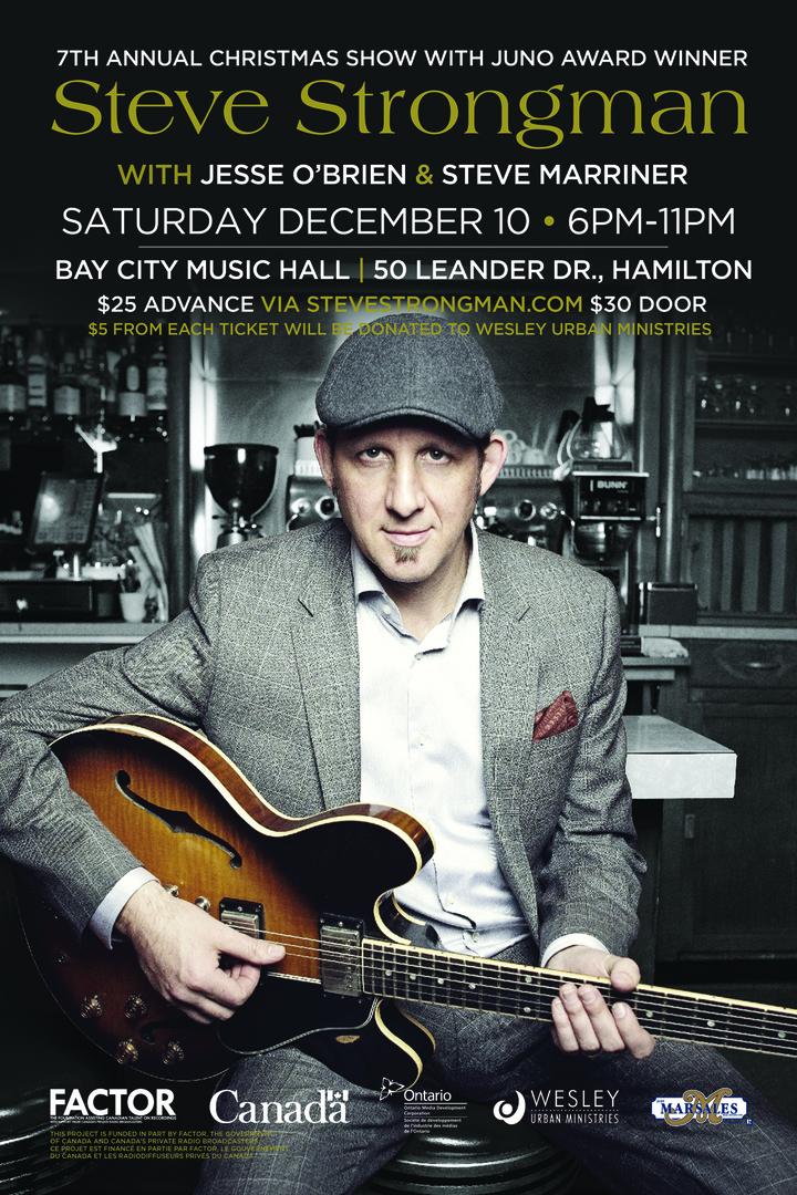 Steve Strongman Music @ Bay City Music Hall - Hamilton, Canada