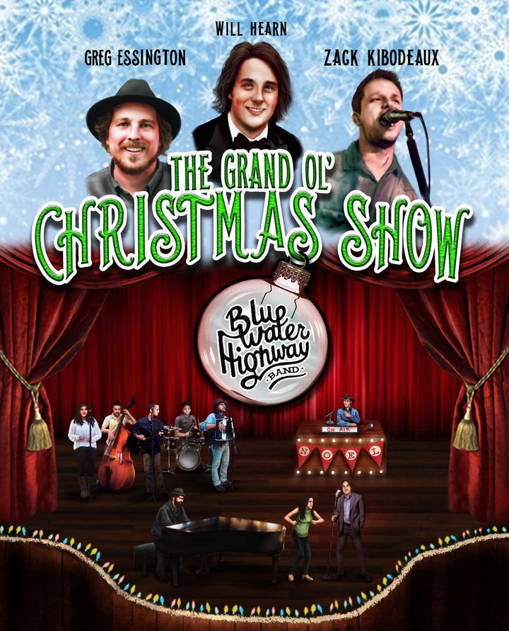 Blue Water Highway Band @ The Grand Ol' Christmas Show - Brauntex Theatre - New Braunfels, TX