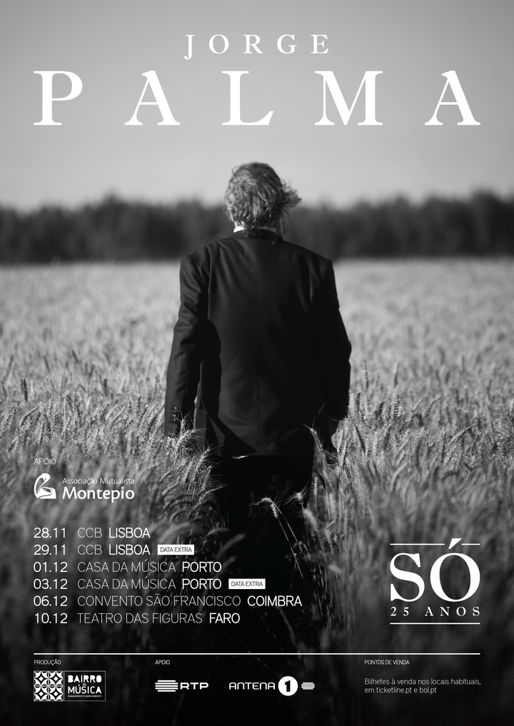 Jorge Palma @ Jorge Palma | Só - Teatro das Figuras - Faro, Portugal