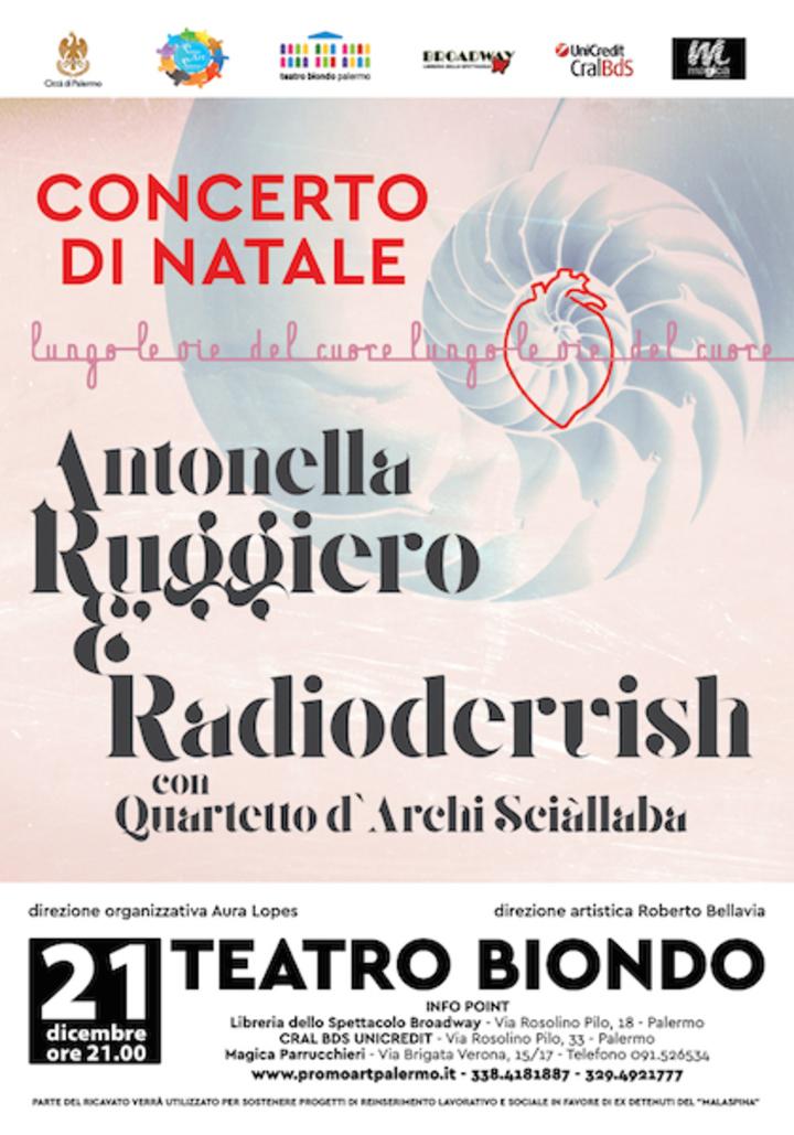Antonella Ruggiero @ Teatro Biondo - Palermo, Italy