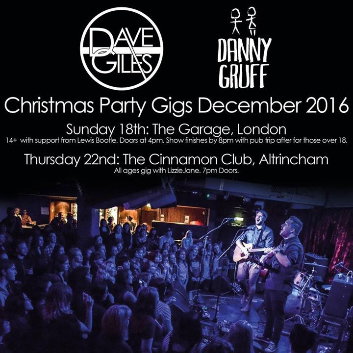 Dave Giles @ The Cinnamon Club - Bowdon, United Kingdom