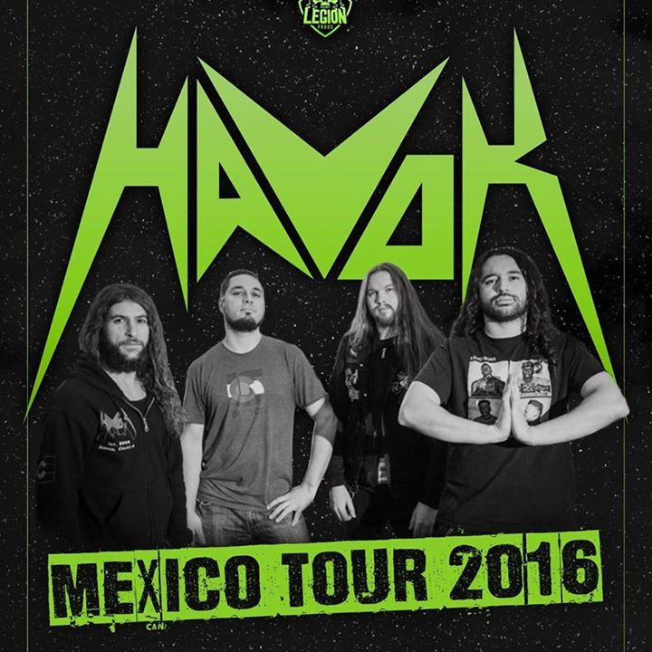 Havok Tour Dates