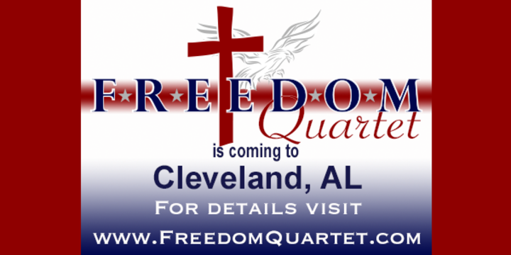 Freedom Quartet @ Cleveland United Methodist Church - Cleveland, AL