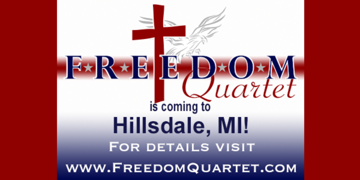 Freedom Quartet @ Gospel Barn - Hillsdale, MI