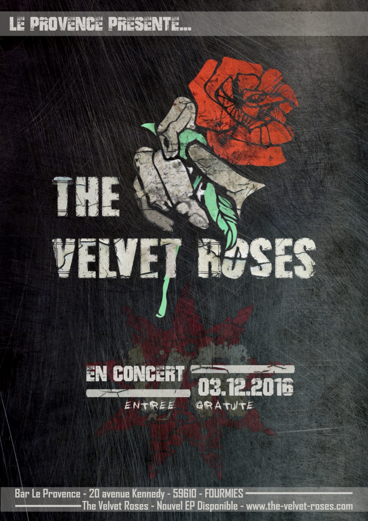 The Velvet Roses @ Le Provence - Fourmies, France