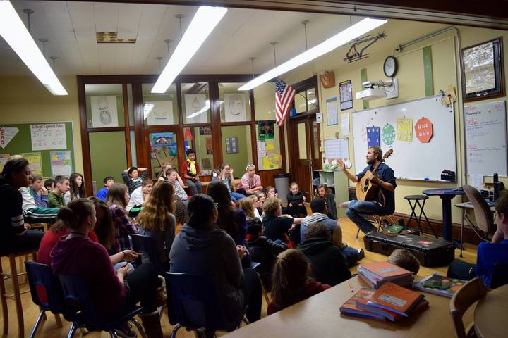 Craig Cardiff @ Empire Public School - Waterloo, Canada