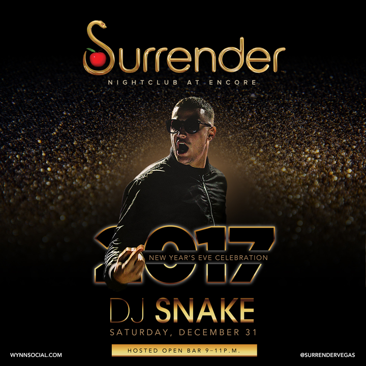 DJ Snake @ SURRENDER NIGHTCLUB - Las Vegas, NV