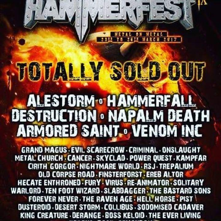 Virus (Thrash) @ Hammerfest - Pwllheli, United Kingdom