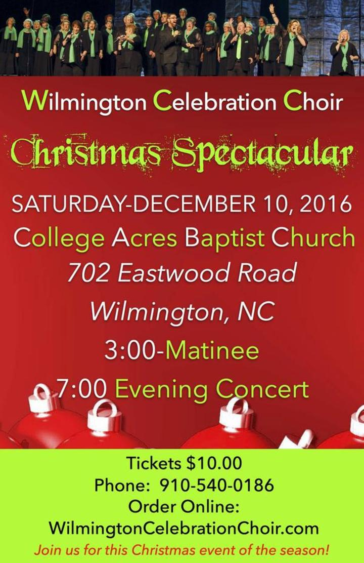 Wilmington Celebration Choir @ College Acres Baptist Chruch  - Wilmington, NC