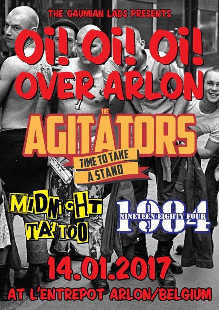 The Agitators @ L'Entrepot - Arlon, Belgium