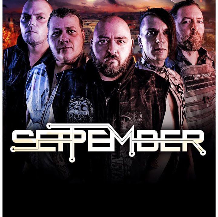 September Official Tour Dates