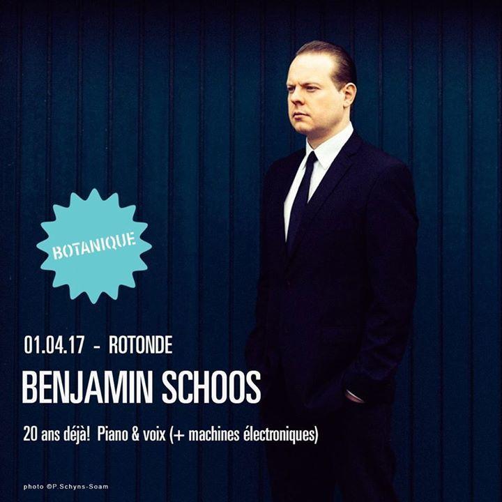 Benjamin Schoos Tour Dates