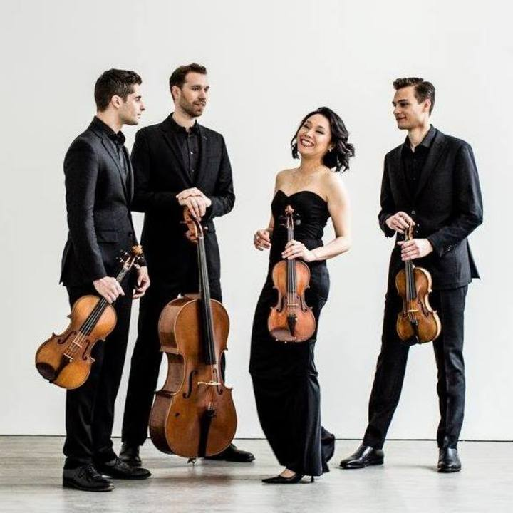 Tesla Quartet @ Old Divinity School, St John's College - Cambridge, United Kingdom