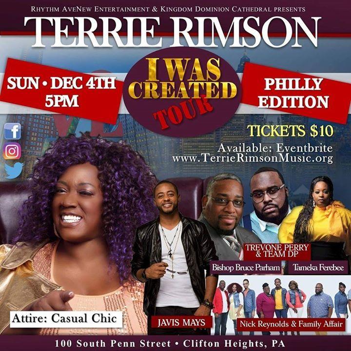 Terrie Rimson Tour Dates