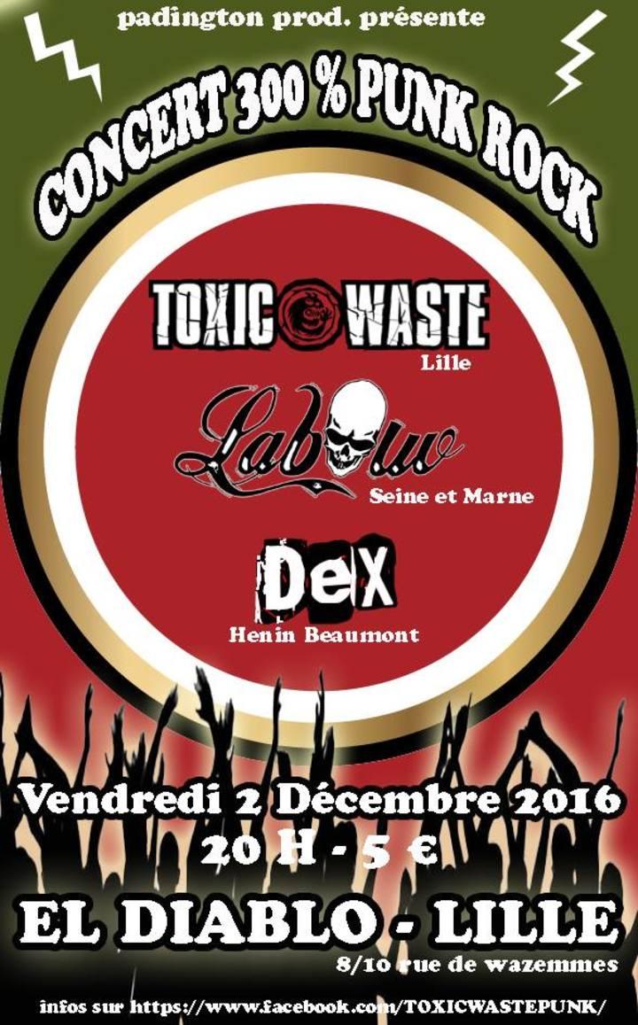 Toxic Waste @ ElDiablo - Lille, France