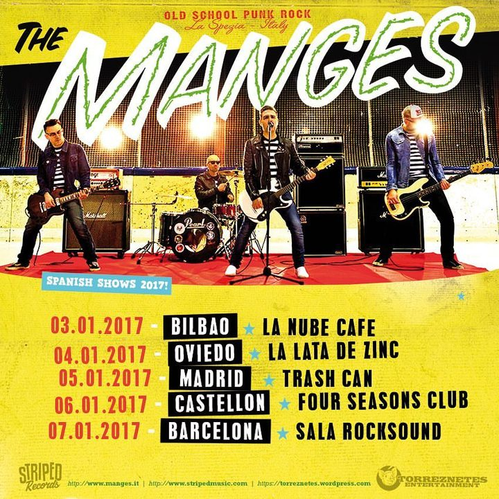 The Manges @ Trash Can - Madrid, Spain