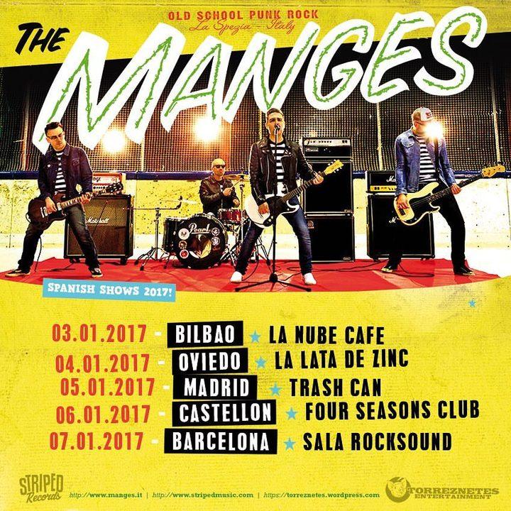 The Manges @ Sala Rocksound - Barcelona, Spain