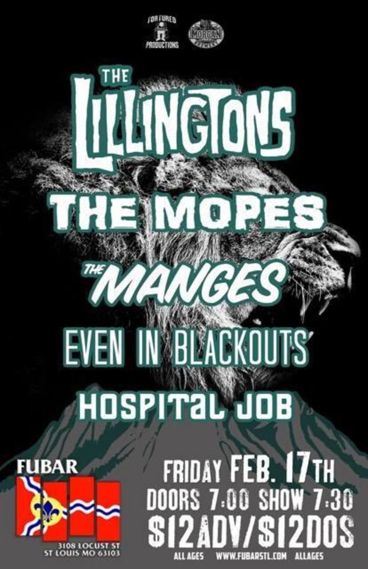 The Manges @ Fubar - Saint Louis, MO