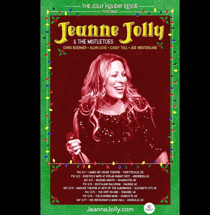 Jeanne Jolly Tour Dates