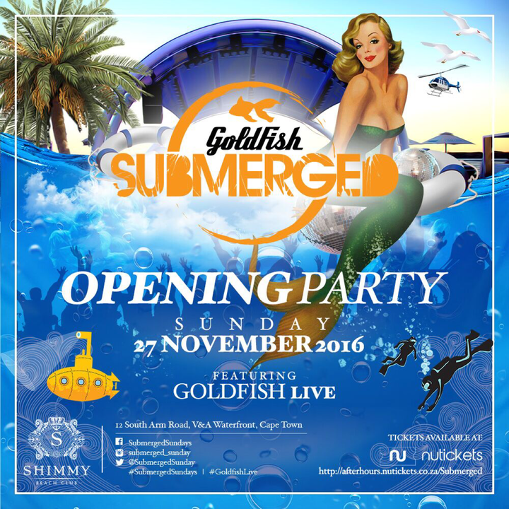 Goldfish @ Shimmy Beach Club - Cape Town, South Africa