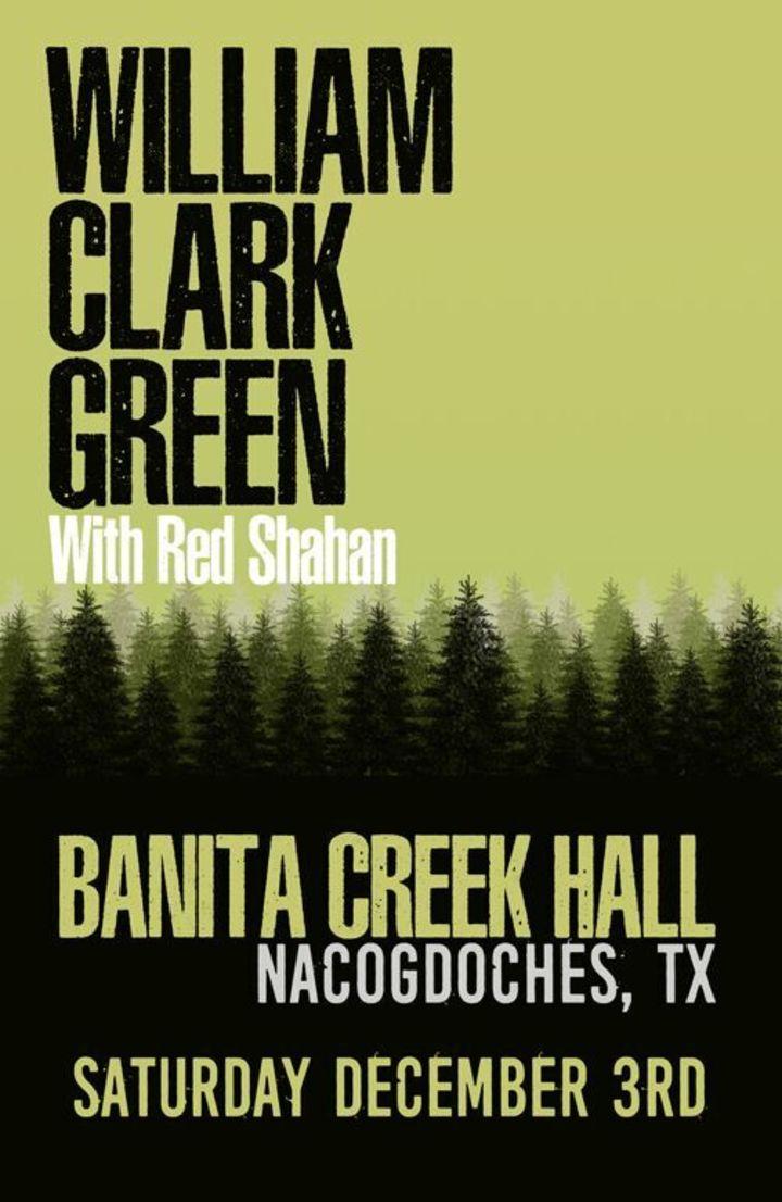 Red Shahan @ Banita Creek Hall - Nacogdoches, TX