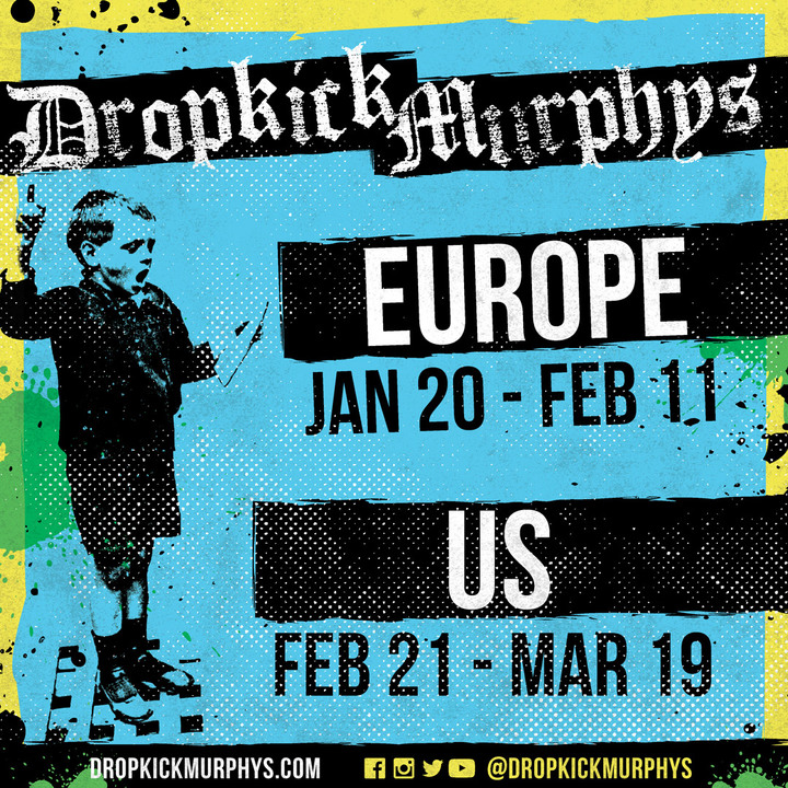 Dropkick Murphys @ Zénith Paris La Villette - Paris, France
