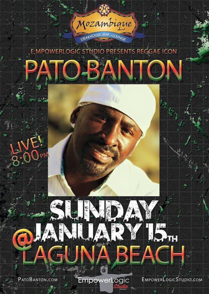 Pato Banton @ Mozambique - Laguna Beach, CA