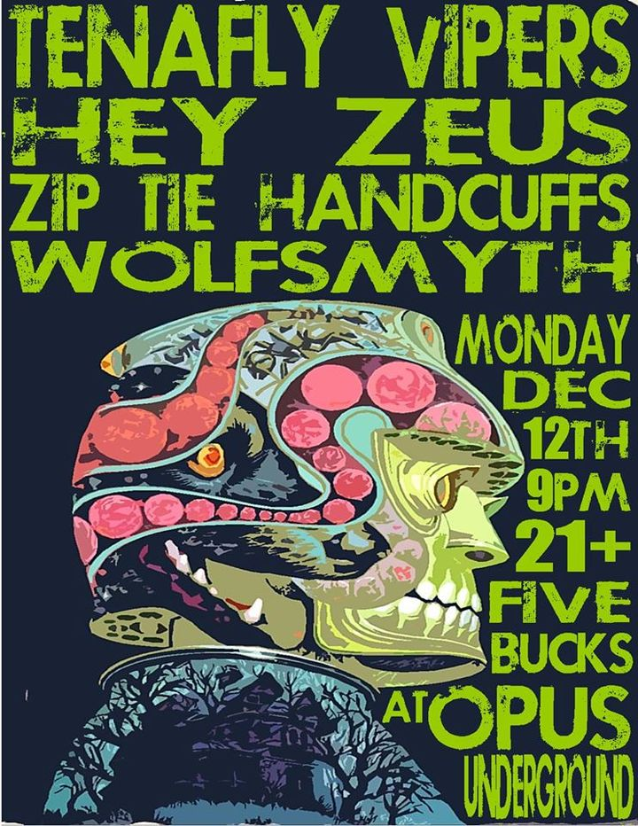 Hey Zeus @ Opus Underground - Salem, MA