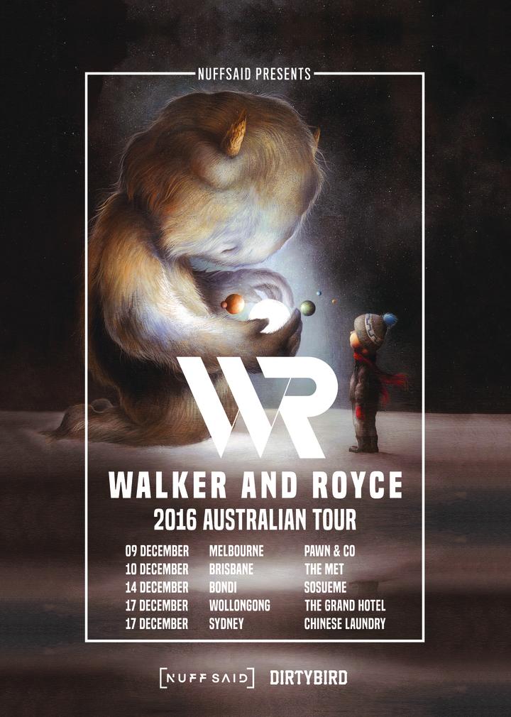 Walker & Royce @ Chinese Laundry - Sydney, Australia