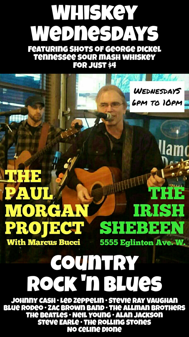 Paul Morgan @ The Irish Shebeen Pub - Toronto, Canada