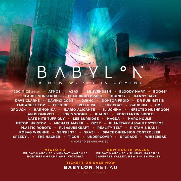 Infected Mushroom @ Babylon Festival - Ruse, Australia