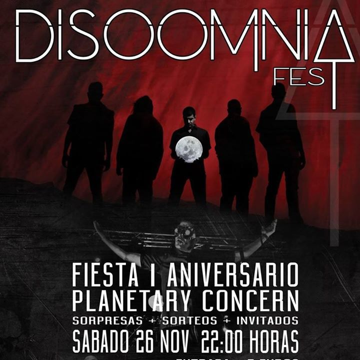 Disomnia Tour Dates