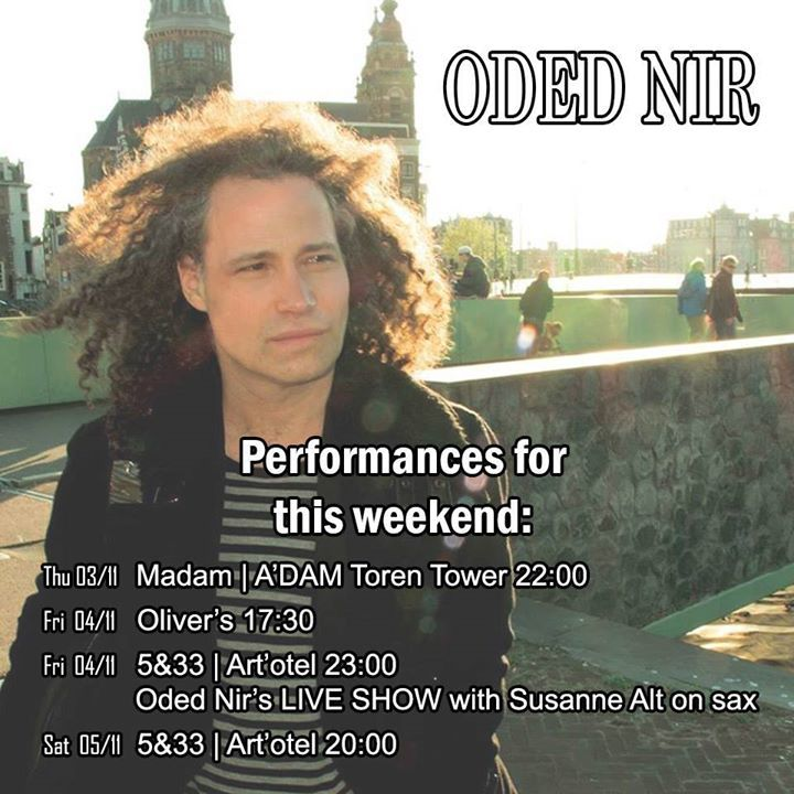 Oded Nir Tour Dates