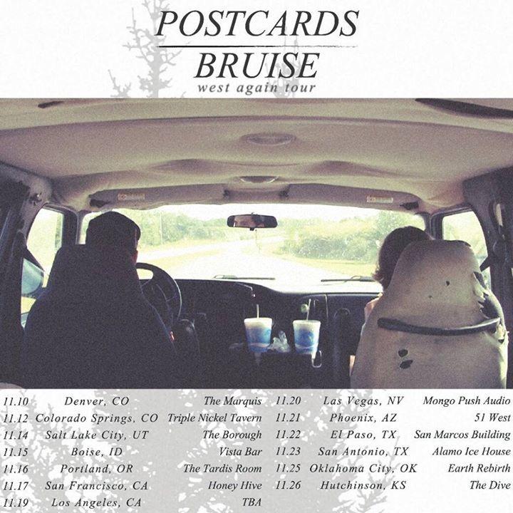 Bruise Tour Dates