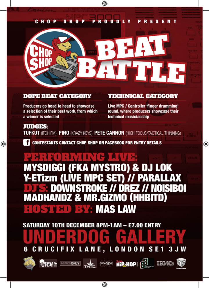 Mystro @ The Underdog Gallery - London, United Kingdom