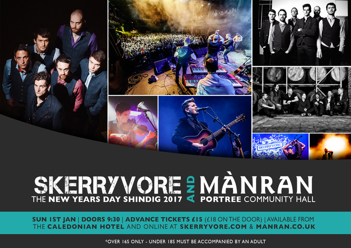 SKERRYVORE @ Portree Community Centre - Isle Of Skye, United Kingdom