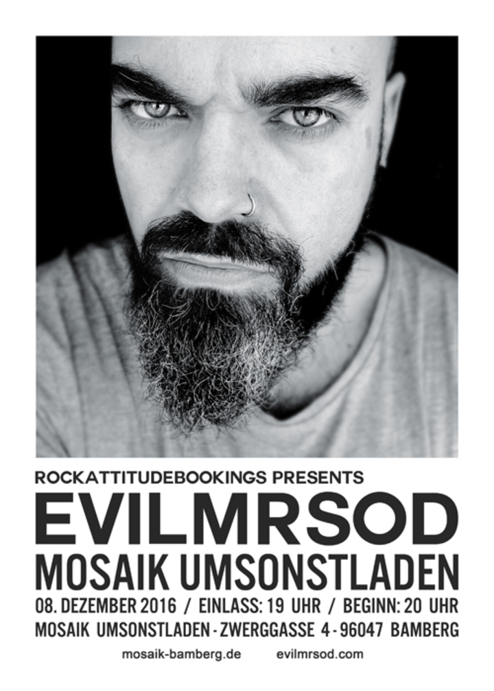 EvilMrSod @ Mosaik Umsonstladen - Bamberg, Germany