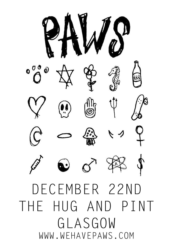 Paws @ The Hug and Pint - Glasgow, United Kingdom