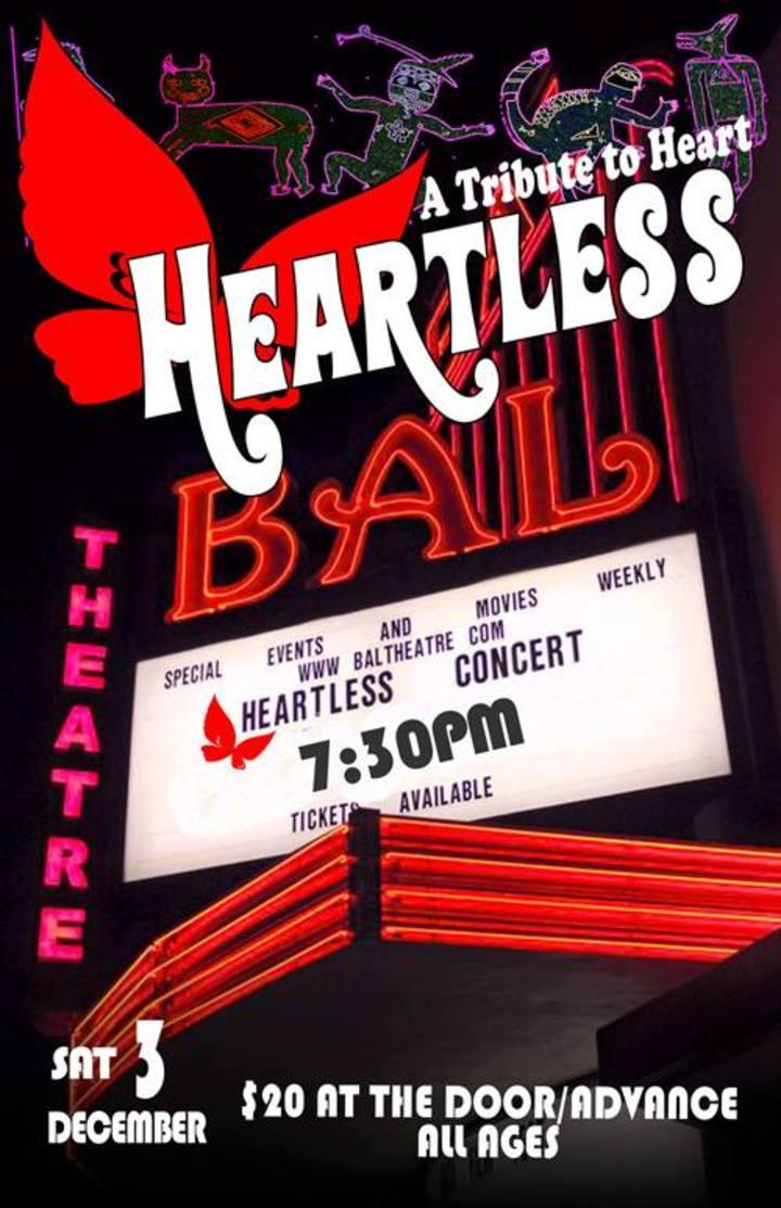 Heartless - A Tribute to the Rock Band Heart @ Bal Theatre - San Leandro, CA
