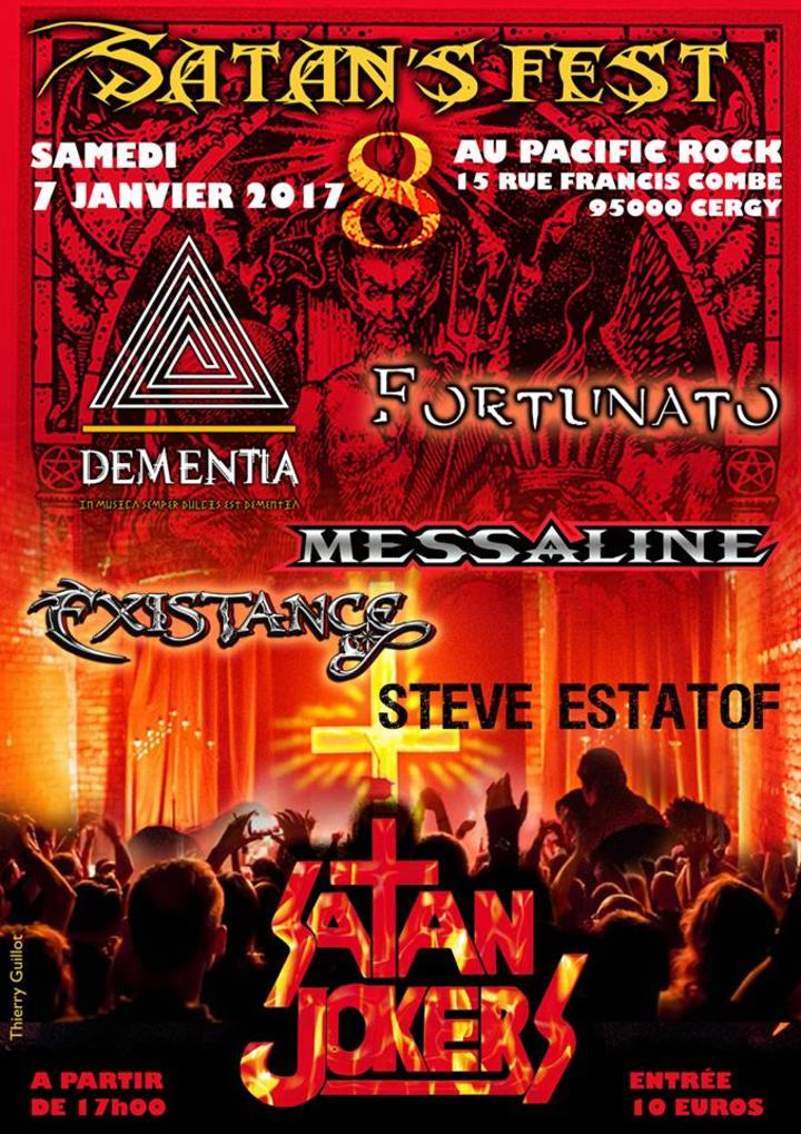 Existance @ Pacific Rock - Cergy, France