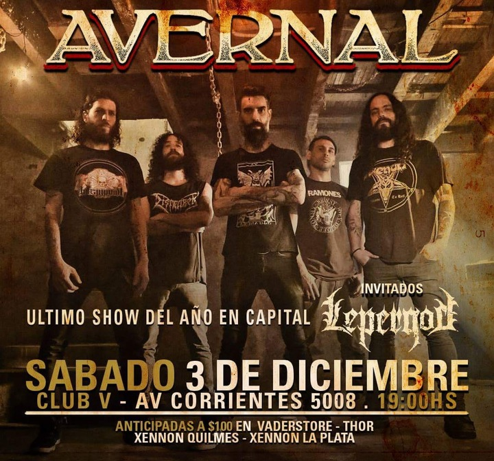 Avernal @ Club V Bar - Buenos Aires City, Argentina
