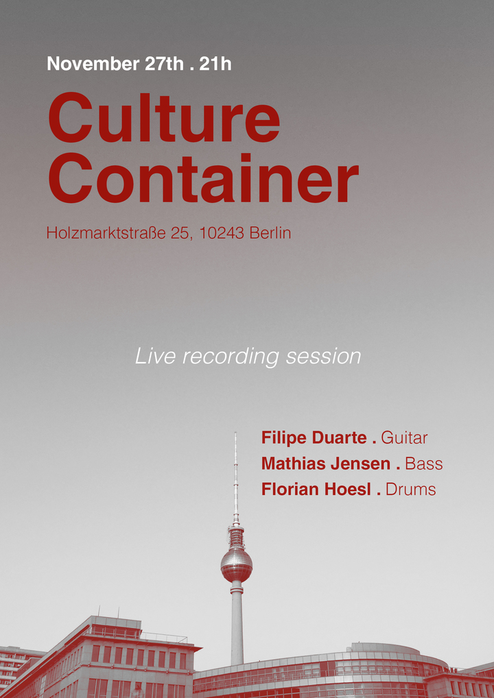 Filipe Duarte @ Culture Container - Berlin, Germany