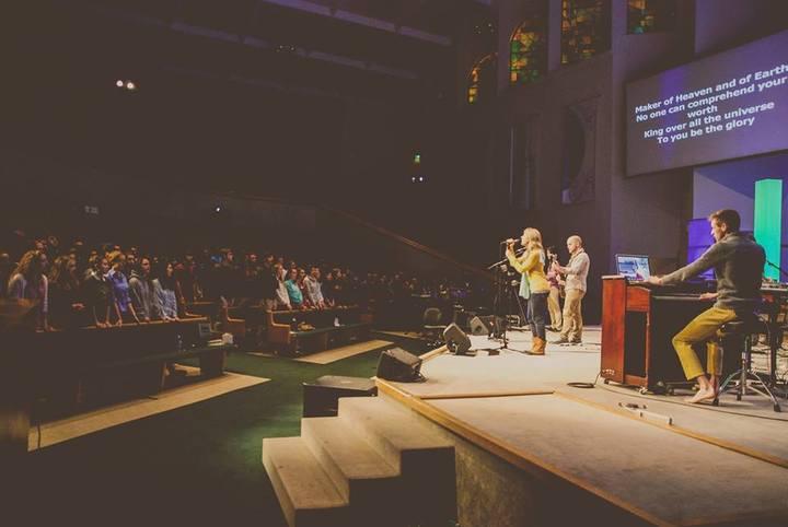 Jonathan and Emily Martin @ Dawson Memorial Baptist Church - Birmingham, AL