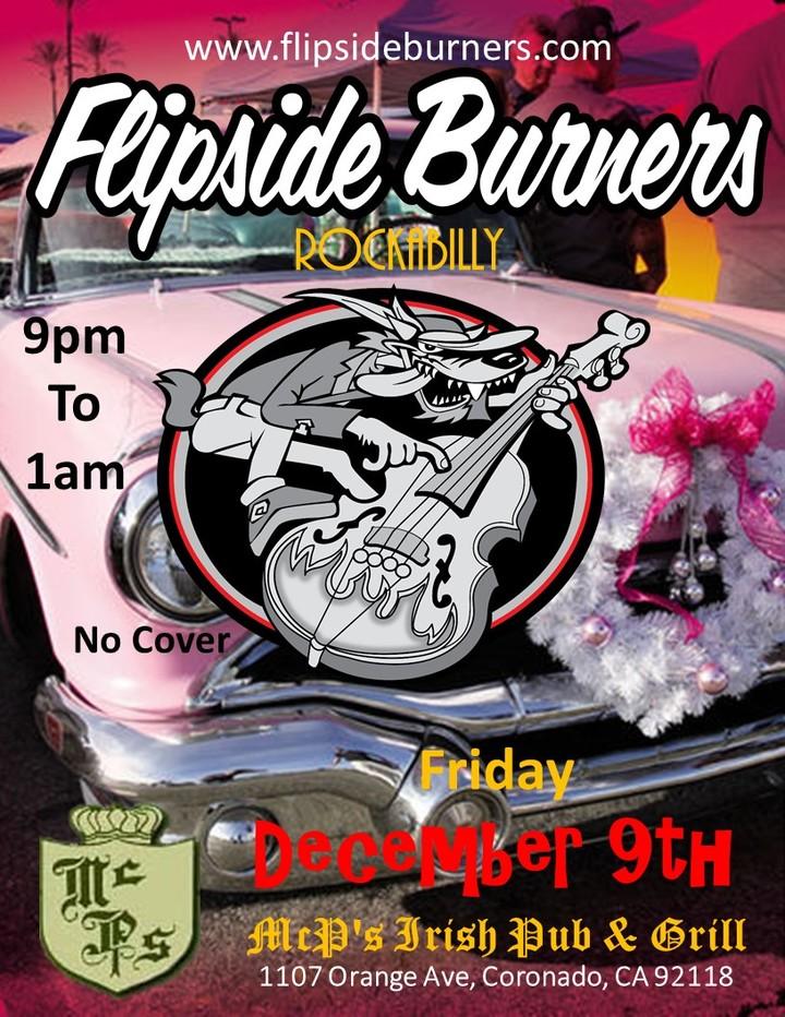 Flipside Burners @ McP's Irish Pub & Grill - Coronado, CA